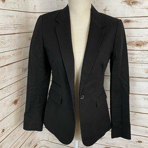 Vince Camuto One Button Black Blazer